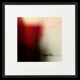 Ron Schoningh fine art print Emptyscape Red hot cliffs