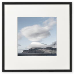 Ron Schoningh fine art print emptyscape Obscured by clouds