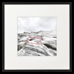 Ron Schoningh fine art print Emptyscape Claimed territory