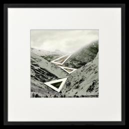 Ron Schoningh fine art print Emptyscape Route to a lost glacier
